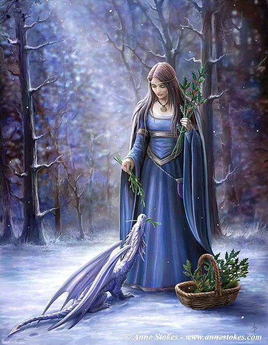 bosco inverno, solstizio inverno, guarigione