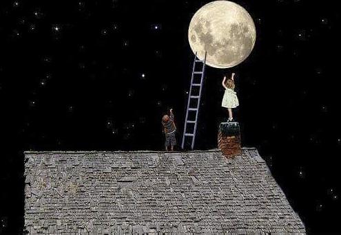 luna piena bimbi - paure, desideri, guarigione, nuova umanità, felicità