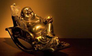 Hotei Dio cinese prosperità e ricchezza