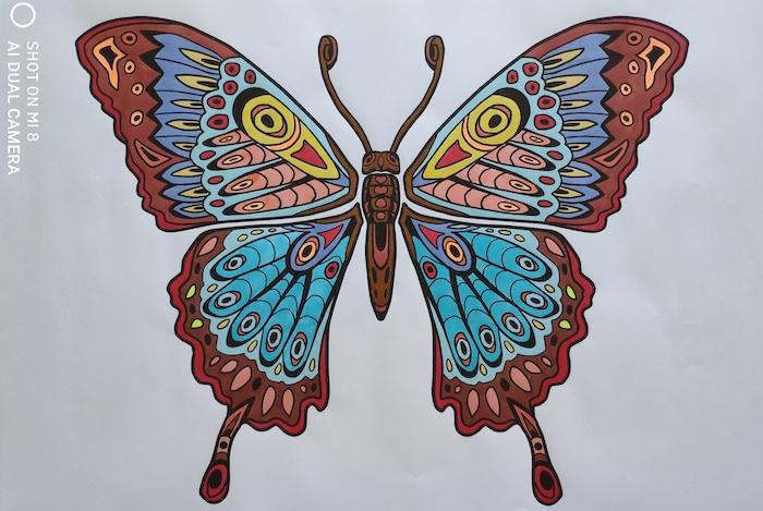 Mandala farfalla - Silvia Pedri