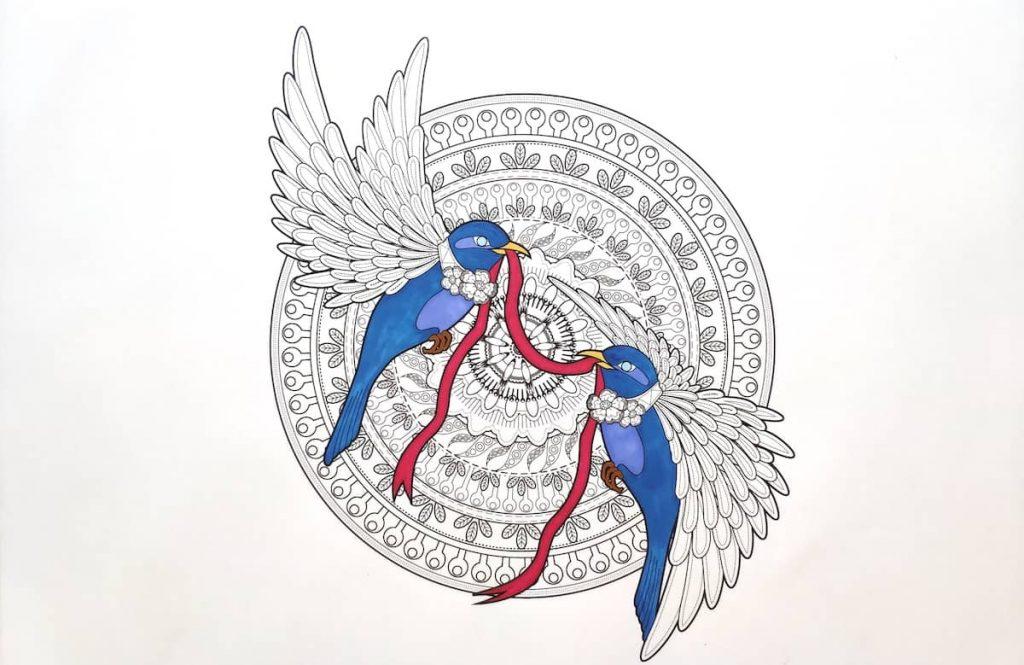 L'Amore è un nastro rosso | Mandala Amore - Silvia Pedri
