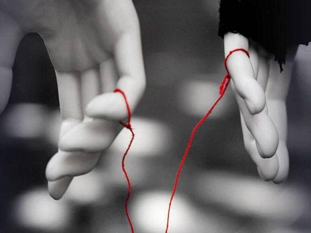 Legame anime gemelle - Filo rosso