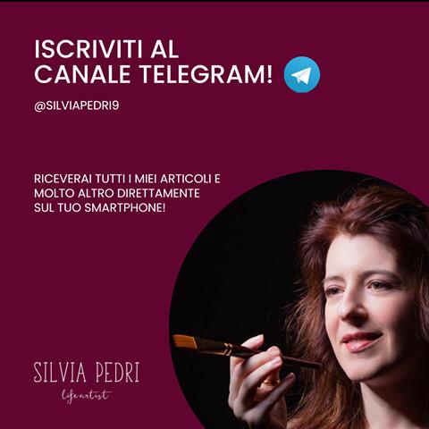 Telegram Silvia Pedri